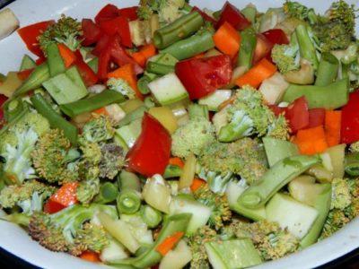 Смесь овощей на зиму