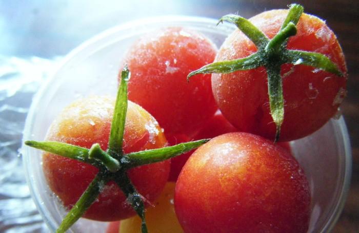 замороженные помидоры-черри